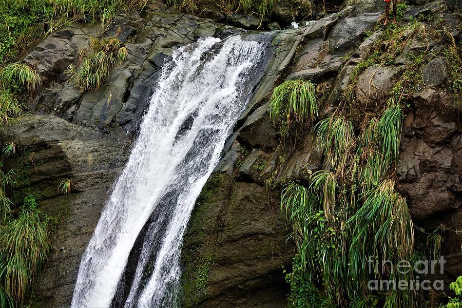 Water Fall Splash by Jimmy Clark