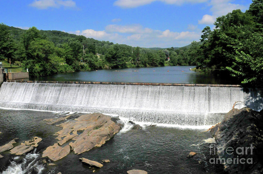 Water Falls Windsor Vermont Photograph