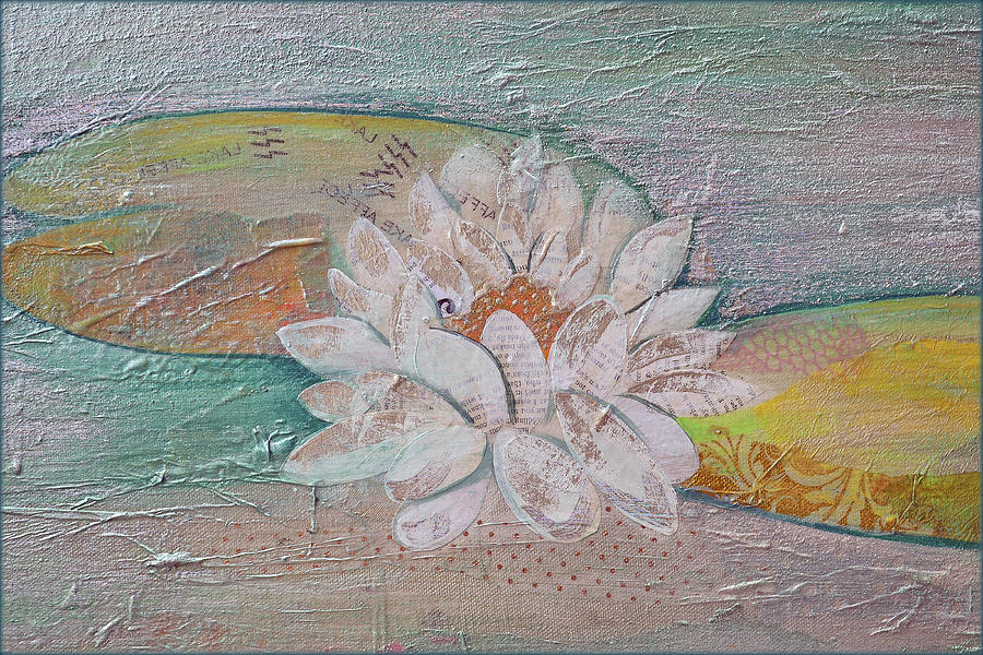 Water Lily II Painting