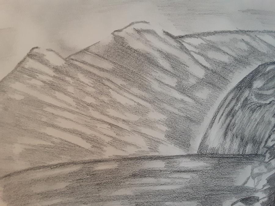 Waterfall Beauty Drawing