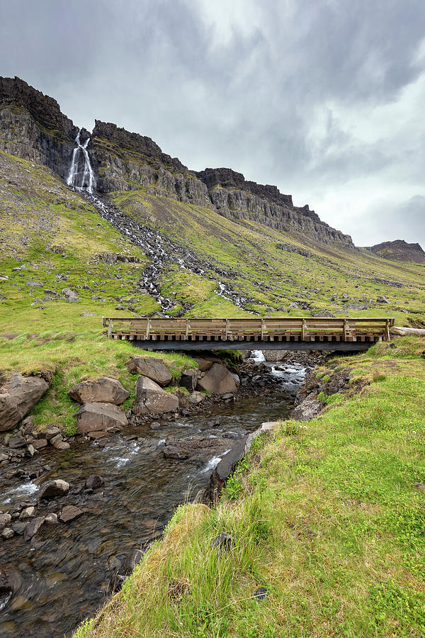 Waterfalls Of Icelands West Fjords Photograph