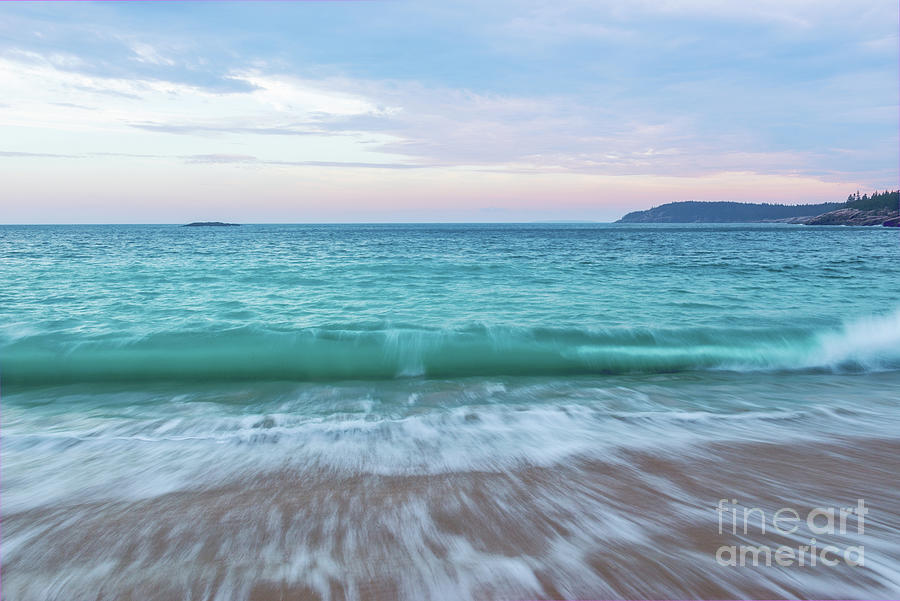 Wave Action by Sharon Seaward