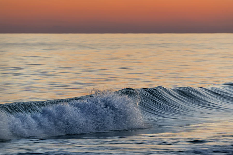 Wave at Sunset by Chris Buff