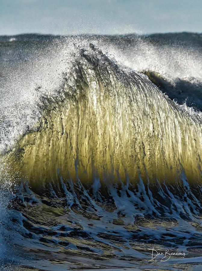 Wave Collision 5084 Photograph