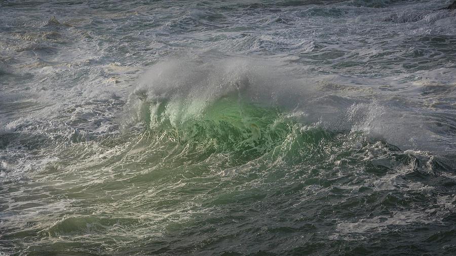 Morning wave by Bill Posner