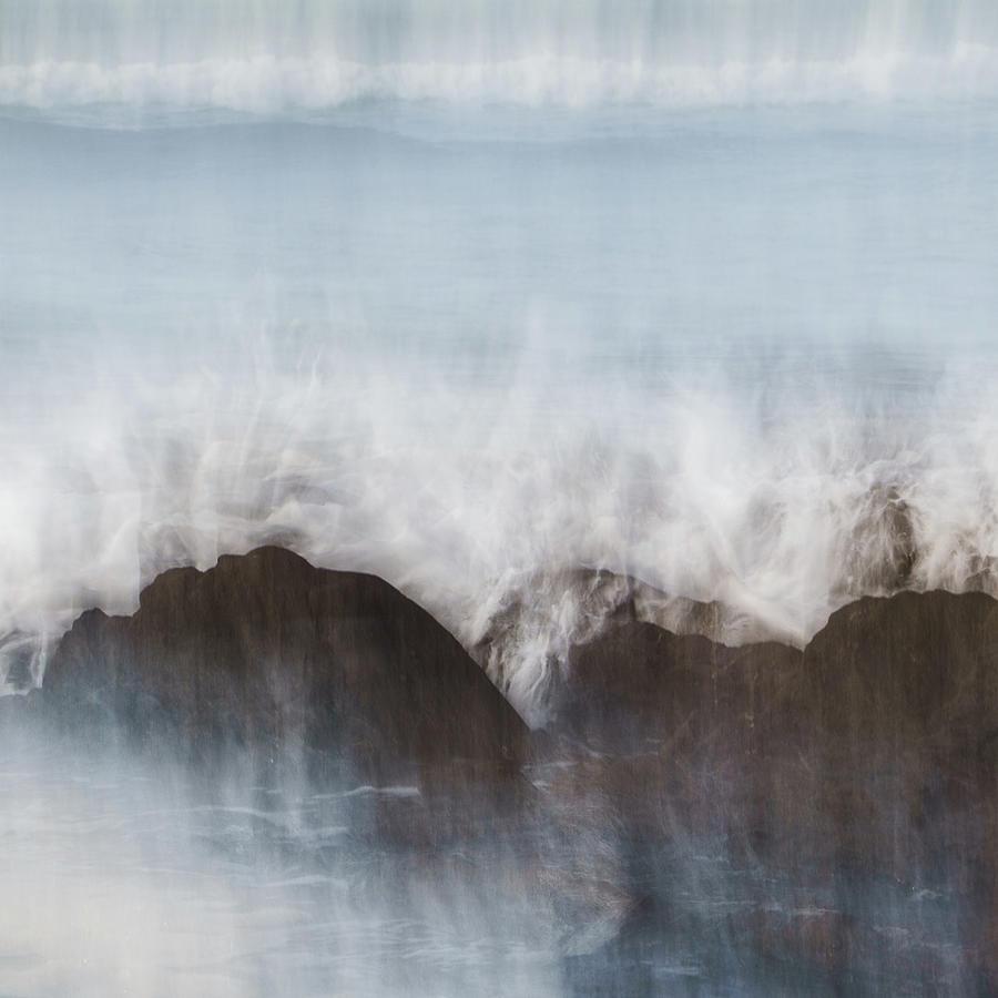 Abstract Photograph - Wavecrash by Bear R Humphreys