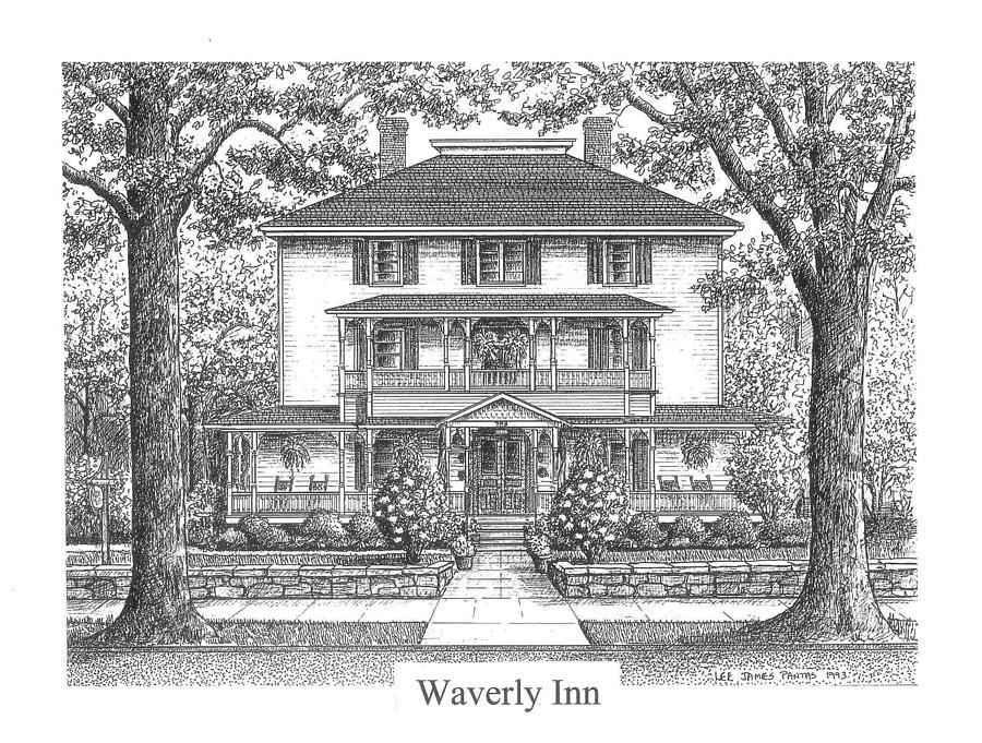 Hendersonville Painting - Waverly Inn by Lee Pantas