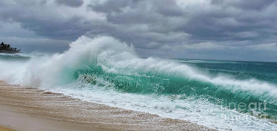 Waves Crashing Photograph