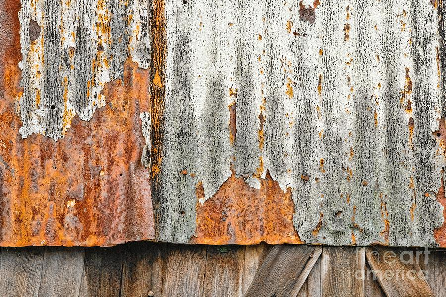 Waves of Progress Rust Away Photograph by Marilyn Cornwell