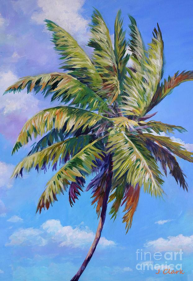 Waving Palm Painting