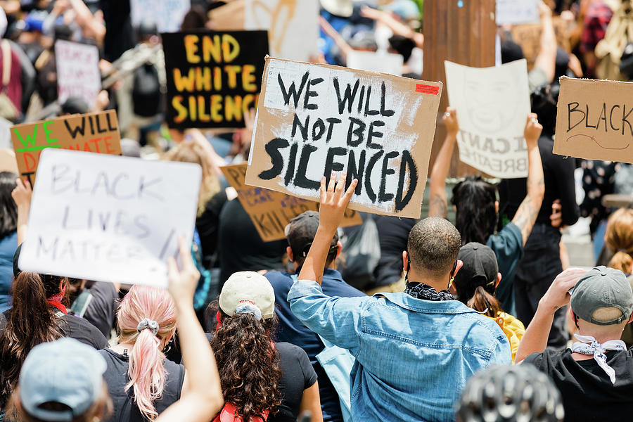 We Will Not Be Silenced Photograph