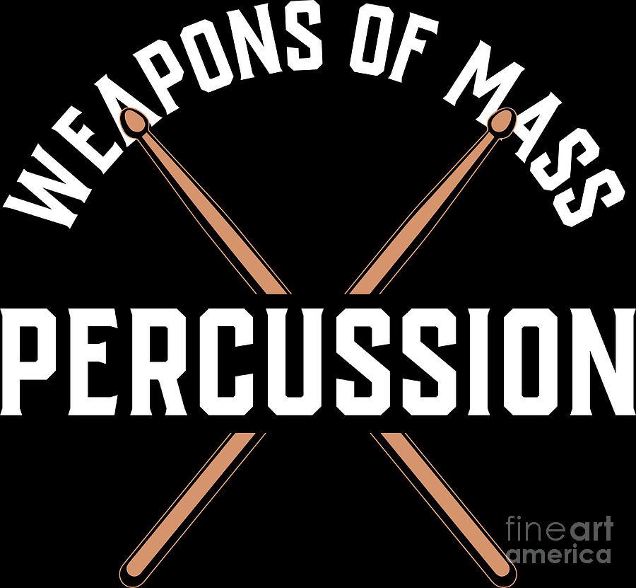Baguettes-weapons of mass percussion-drummer drumming débardeur femme tank top