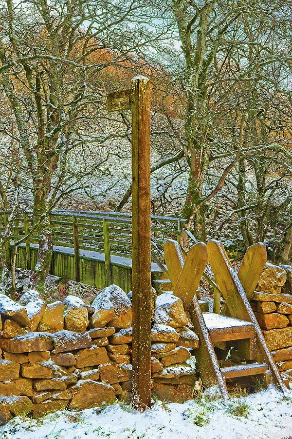 Weardale Way Winter, North Pennines by Martyn Arnold