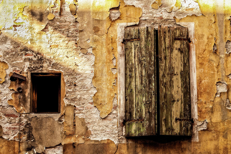 Weathered Window Photograph