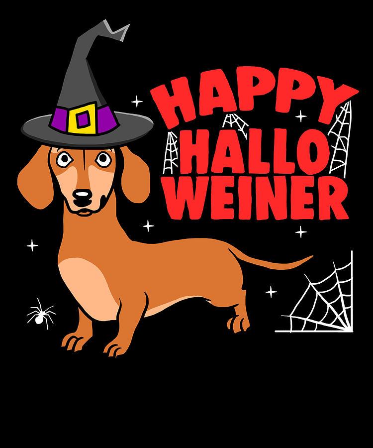 Weiner Dog Halloween Costumes.Weiner Dog Halloween Costume Funny Apparel Digital Art By Michael S