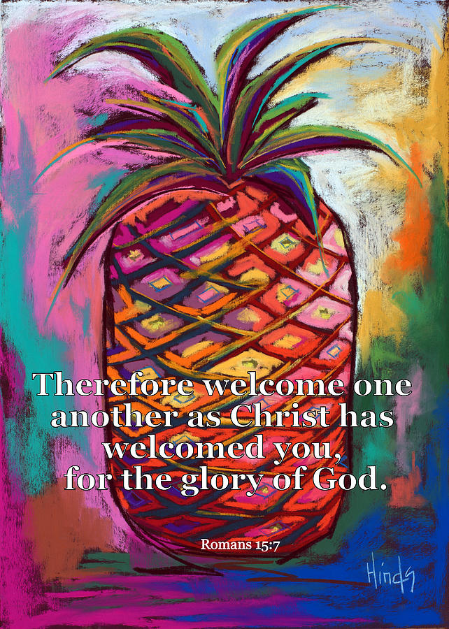 Welcome One Another Painting
