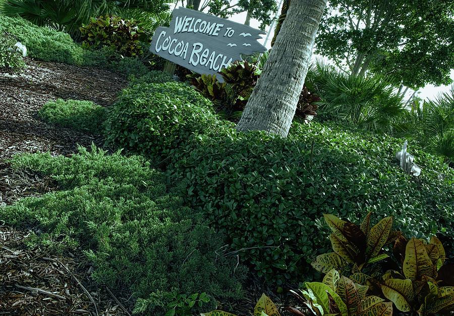 Welcome To Cocoa Beach Florida Photograph