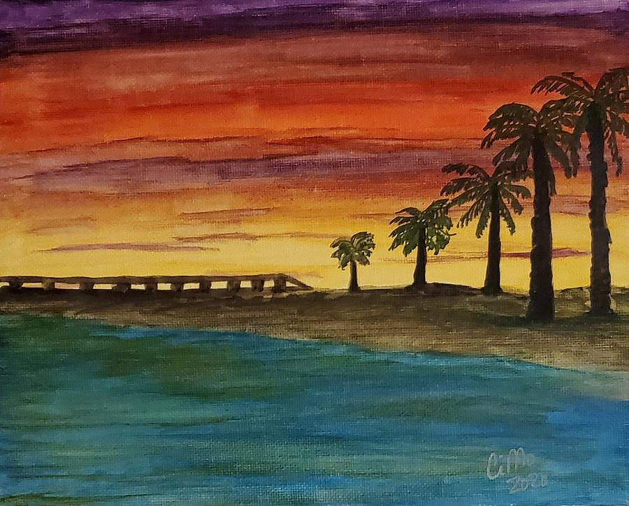 Welcome To Paradise Painting