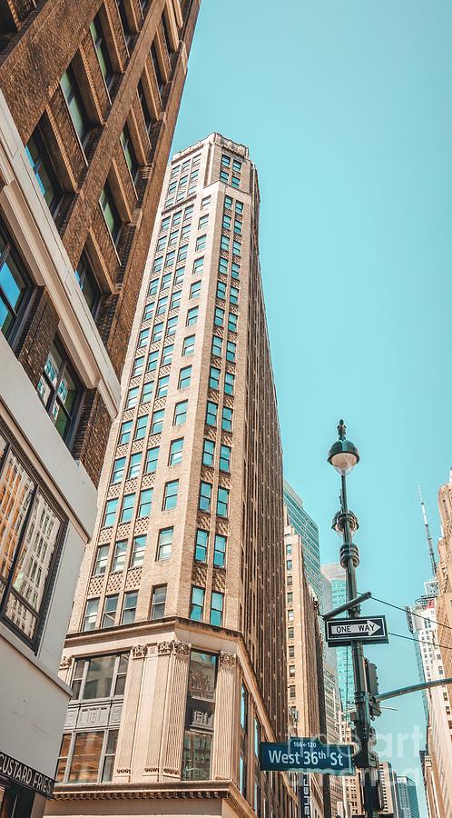 New York Photograph - West 36th Street, New York, New York by Felix Lai