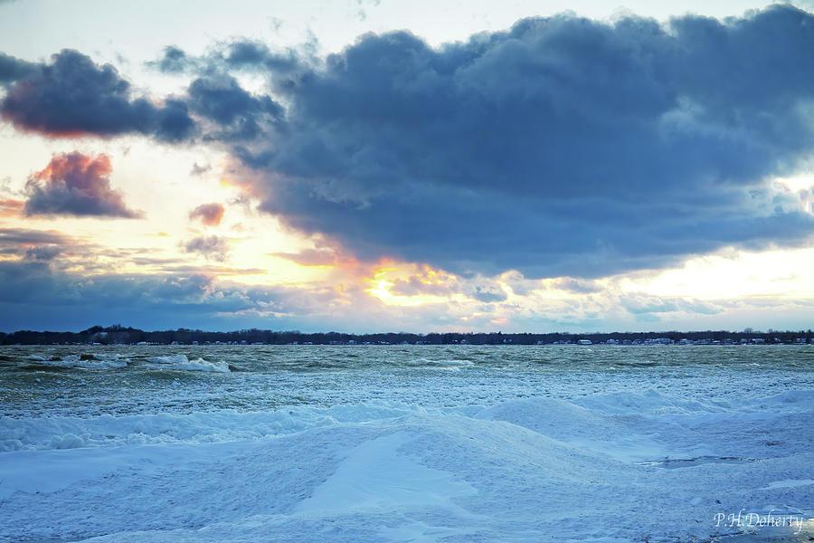 West Across Abino Bay Photograph