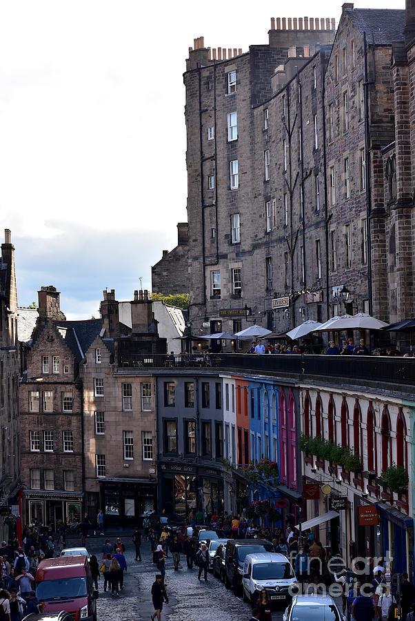 West Bow - Victoria Street - Victoria Terrace, Edinburgh by Yvonne Johnstone