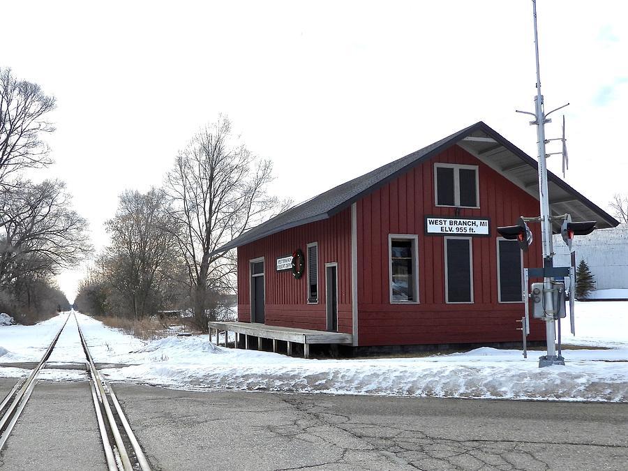 West Branch Freight Depot Dscn0181 Photograph