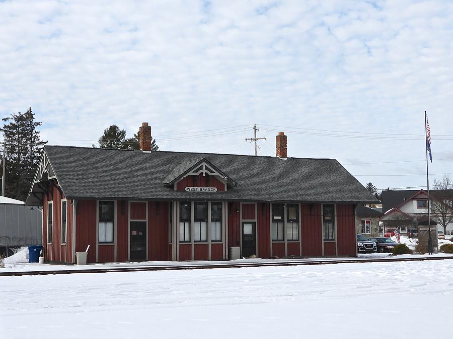 West Branch Train Depot Dscn0185 Photograph