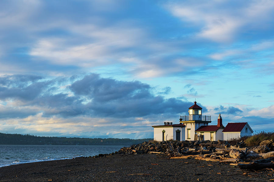 West Point Lighthouse by Michael Lee