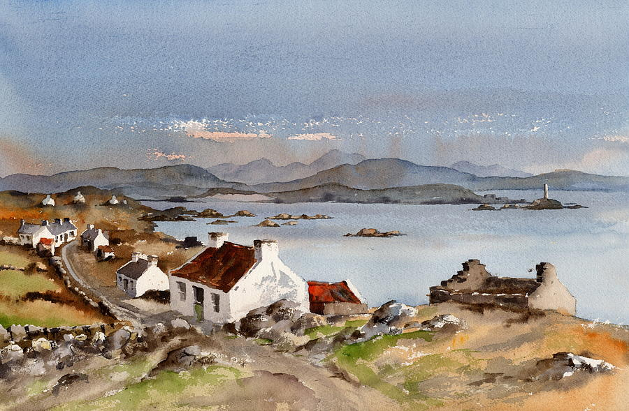 Westend, Inishboffin, Galway by Val Byrne