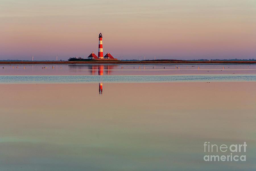 Westerhever Lighthouse Photograph