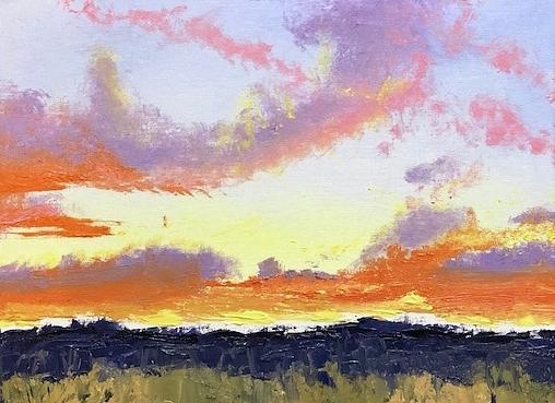Western Sky by Donna Joy Cavaliere