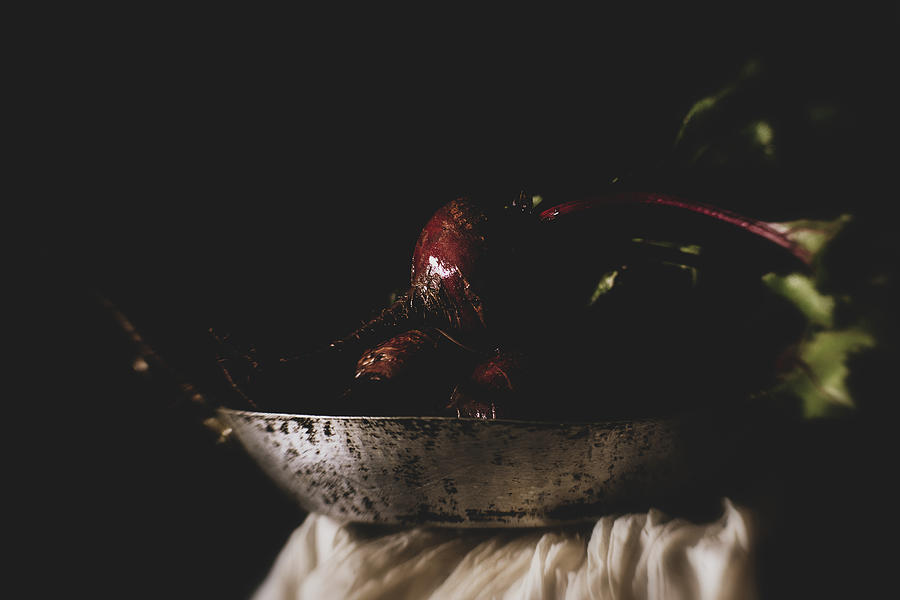 Wet Beets Photograph