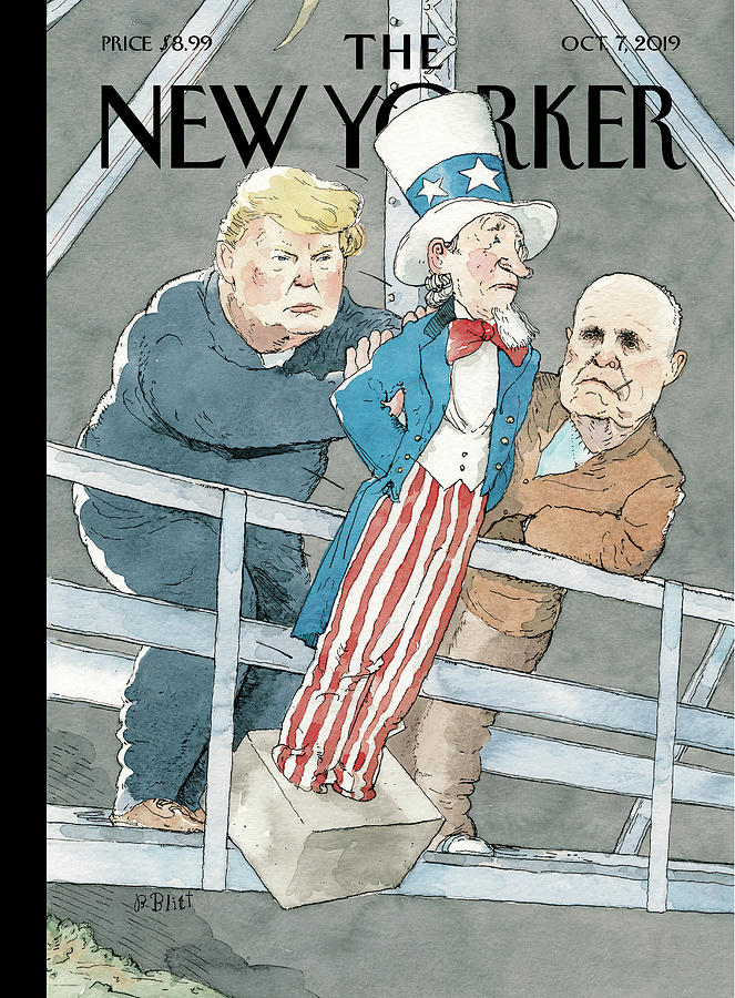 Whack Job Painting by Barry Blitt
