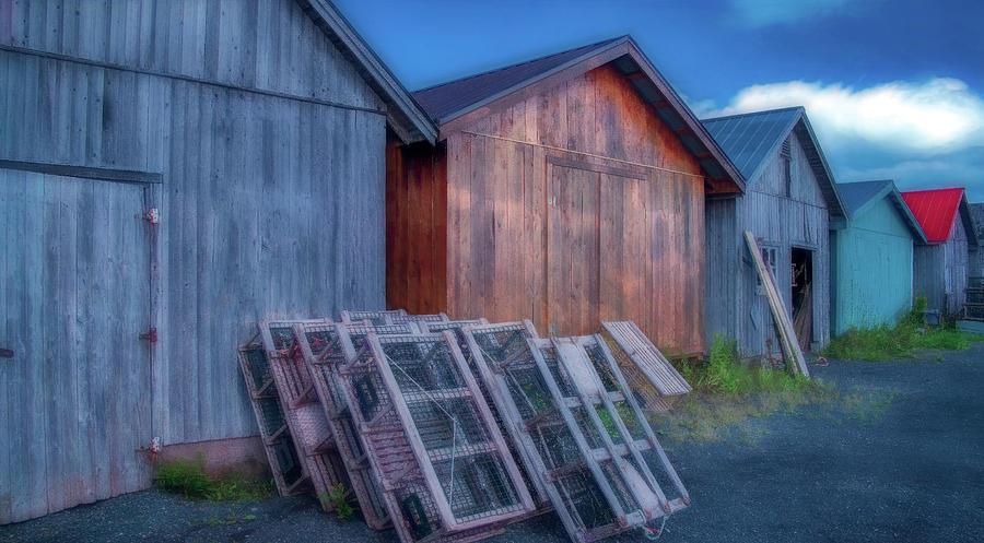 Wharfside At Grahams Pond, Version Two Photograph