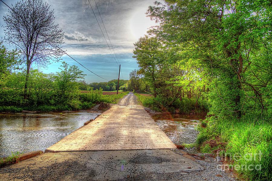 Travel Photograph - What Lies on the Other Side  by Larry Braun