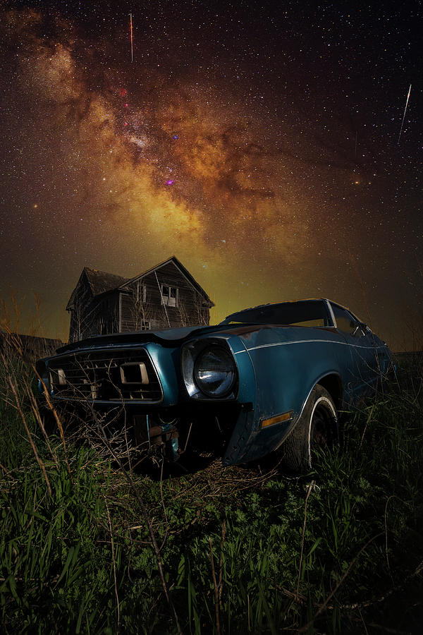 Mustang Ii Photograph - When All Is Said and Done by Aaron J Groen