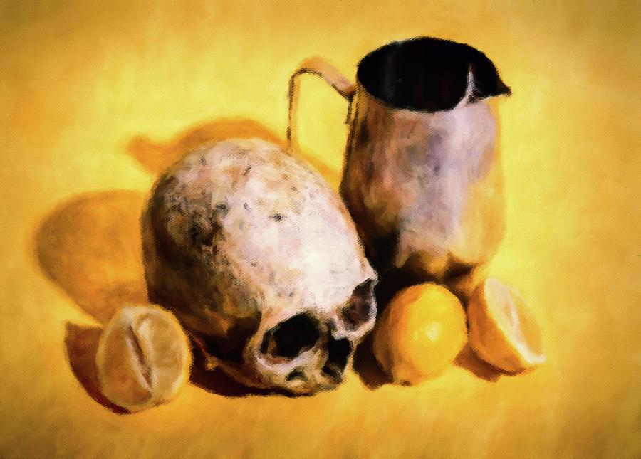 When Death Gives You Lemons Digital Art