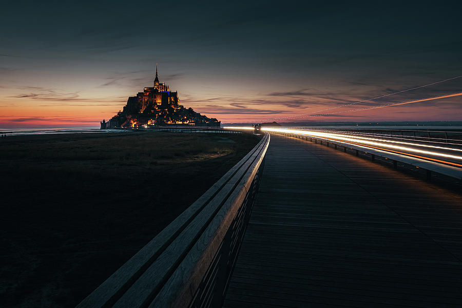 Long Exposure Photograph - When the Night Comes by Andrei Dima