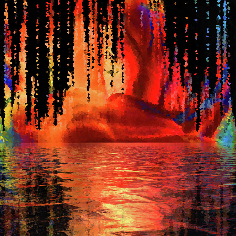 When We Become The Ocean Digital Art