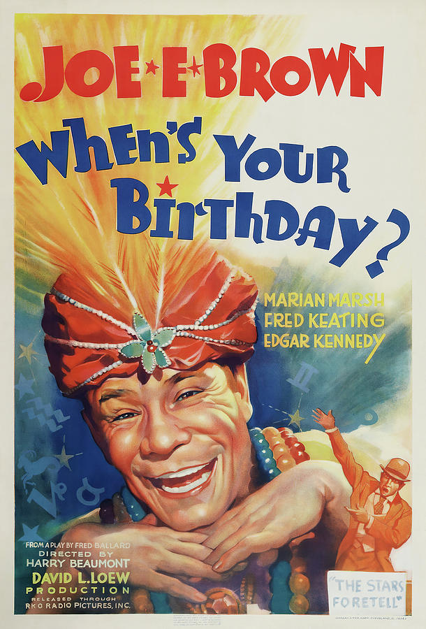 whens Your Birthday?, 1937 Mixed Media