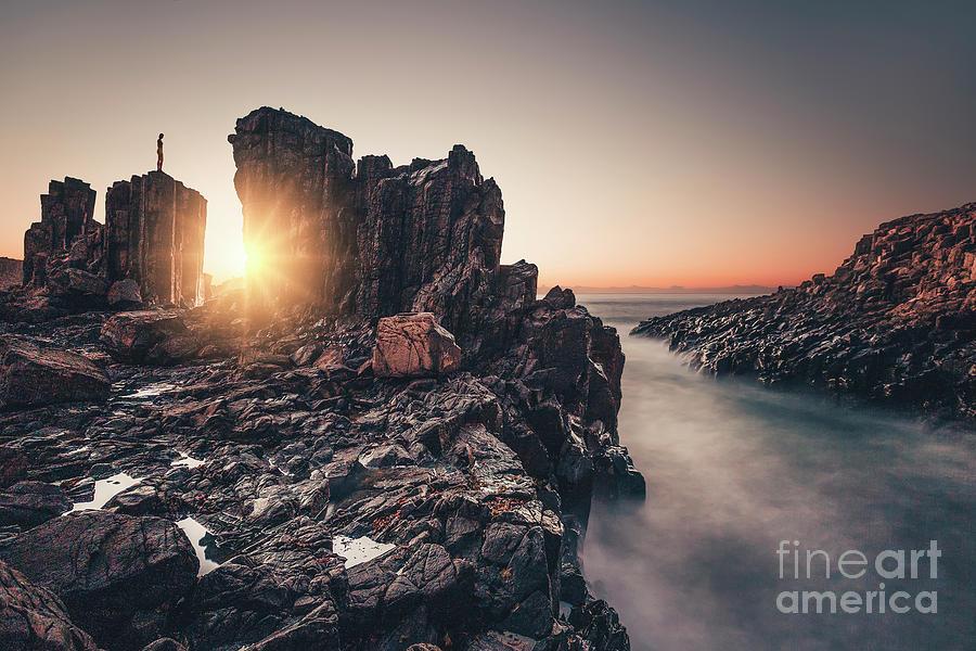 Where The Sun Enters Photograph