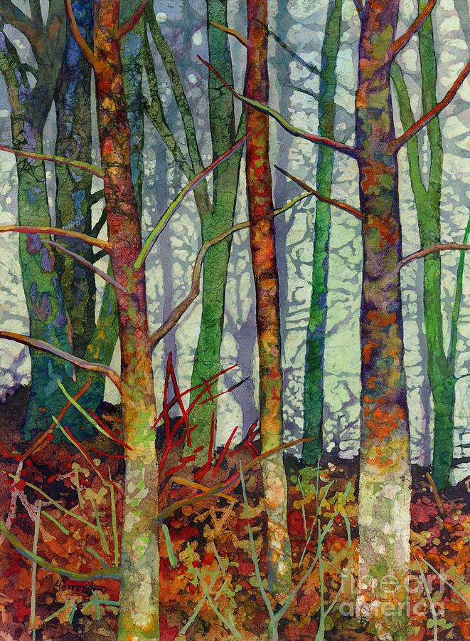 Whispering Forest Painting