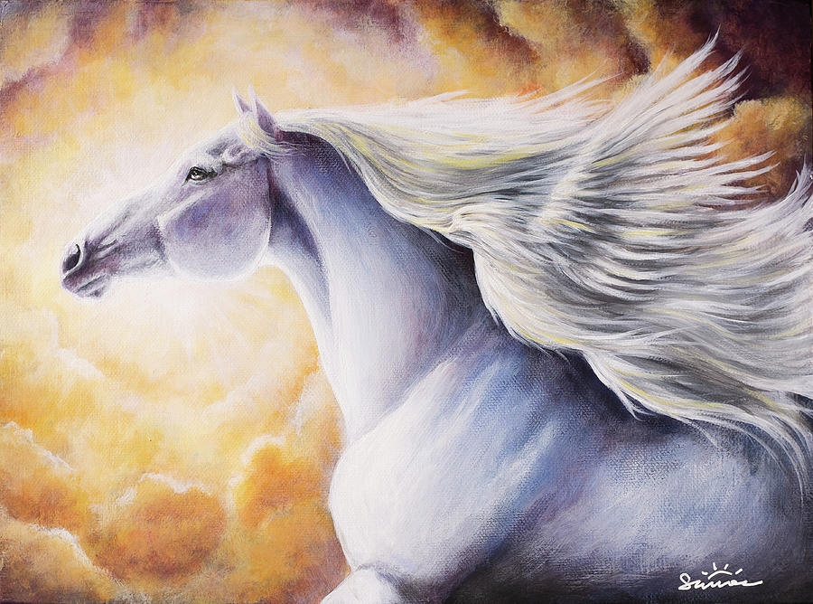 Spiritual Painting - Whispers From The Spirit by Summer Derrickson