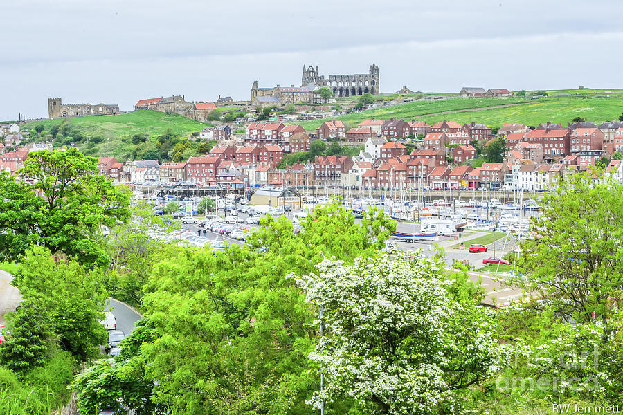 Yorkshire Photograph - Whitby, North Yorkshire, England.  by Richard Jemmett
