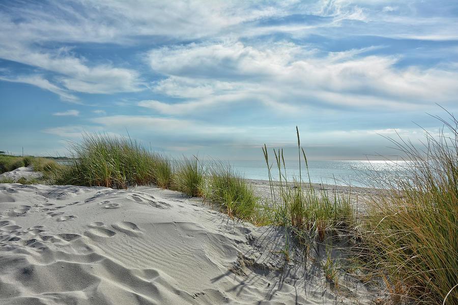 White Dunes Photograph