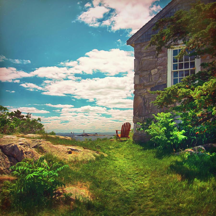 White Island Lighthouse Photograph