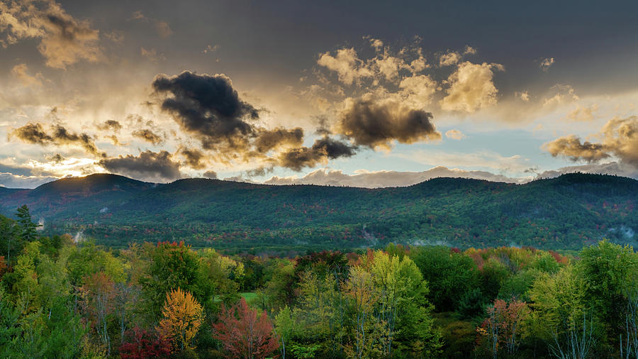 White Mountains After The Storm Photograph