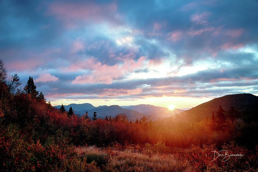 White Mountains Sunrise 4250 Photograph
