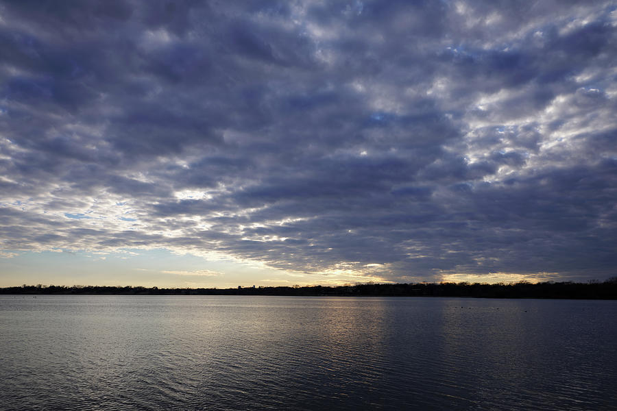 White Rock Lake Pre Sunset 012320 by Rospotte Photography