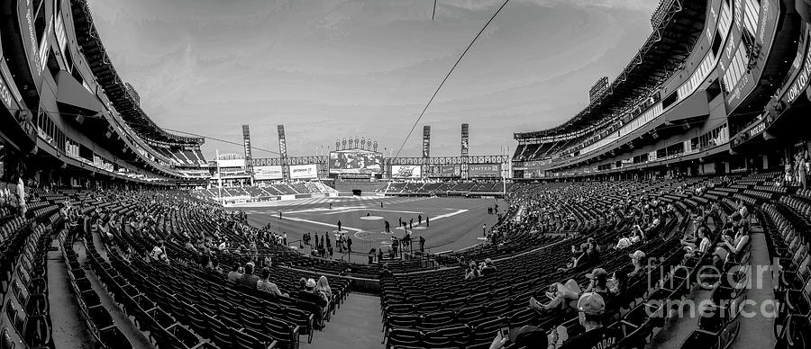 White Sox Photograph - White Sox Park by David Bearden